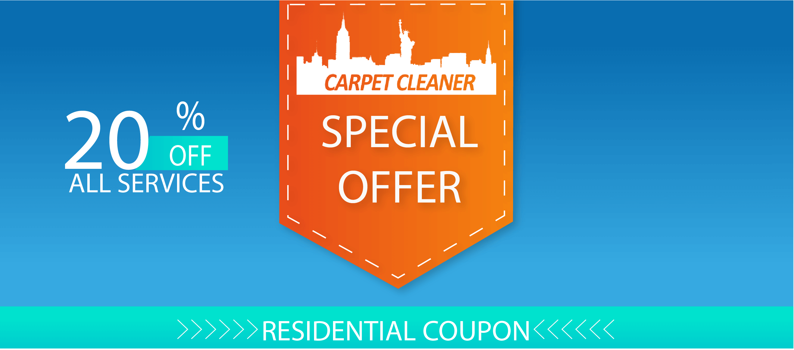 Carpet Cleaner Apartments and Homes special offer